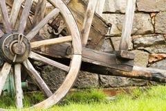 Midieval vagn Royaltyfria Bilder
