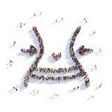 Midjan bantar sportfolk 3d Royaltyfria Bilder