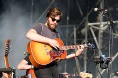 Midlake (American folk rock band) in concert at Heineken Primavera Sound 2014 Royalty Free Stock Image