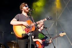 Midlake (folk rock band) in concert at Heineken Primavera Sound 2014 Festival (PS14) Royalty Free Stock Photography