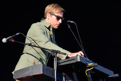 Midlake (grupo de rock popular americano) no concerto no festival 2014 do som de Heineken primavera Foto de Stock Royalty Free