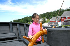 MIDLAND, CANADA - August 25, 2008 - Discovery Harbour in Peneta Stock Image