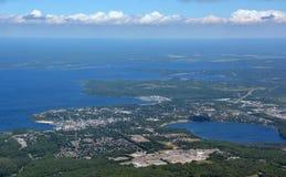 Midland Ontario, aéreo Imagen de archivo