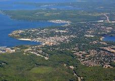 Midland Ontario, aéreo Fotos de archivo