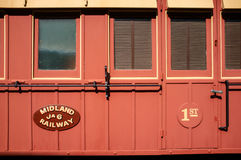 Midland Railway First Class Carriage, Western Australia Royalty Free Stock Photography