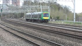 Midlands region train stock video