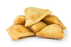 Midle Asian pies with meat (samsa) Stock Photography