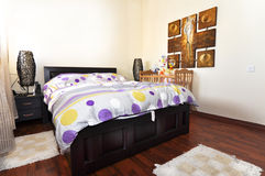 Midle east Bedroom Royalty Free Stock Photos