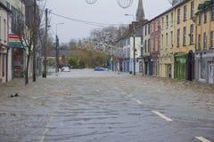 Midleton Co Cork Flooded royaltyfria foton