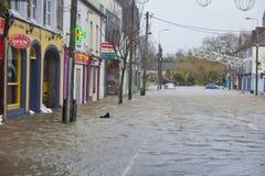 Midleton Co Cork Flooded royaltyfri bild