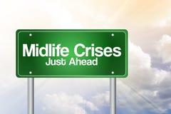 Midlife Crises Just Ahead Stock Photo