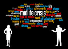 Midlife crisis Stock Images