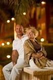 midlle âgé d'amour de couples Image libre de droits