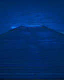 Midnatt påfart Arkivbild