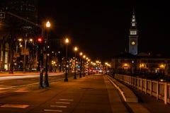 Midnatt timme arkivfoto