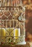 Midnatta stearinljus Royaltyfria Bilder