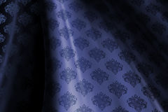 Midnight Blue Wallpaper Pattern Stock Image