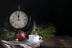 Midnight Christmas Tea Royalty Free Stock Photo
