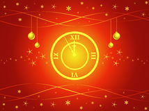 Midnight Clock Stock Images