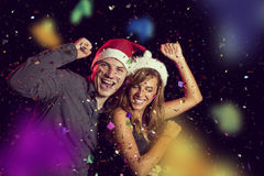 Midnight dance Royalty Free Stock Images