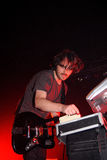 Midnight Juggernauts band performs at Razzmatazz Clubs Stock Images