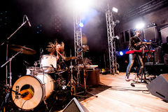 Midnight Juggernauts concert Stock Image