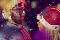 Midnight Kiss Royalty Free Stock Image