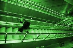 Midnight in the Metro. Late night in the Copenhagen Metro - Denmark Stock Images