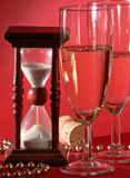 midnight nya år för helgdagsafton Royaltyfria Foton