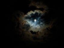 Midnight pearl moon Stock Photos