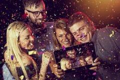 Midnight selfie obraz royalty free