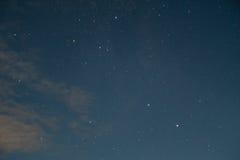 Midnight stars Stock Image