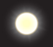 Midnight sun Royalty Free Stock Image