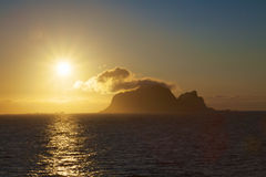 Midnight sun Stock Photography
