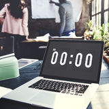 Midnight Time Tomorrow Timing Concept Royalty Free Stock Images
