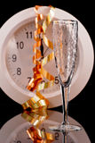 Midnight Toast Royalty Free Stock Images