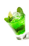 Midori Fizz Royalty Free Stock Images