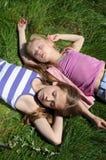 Miúdos de sono Imagem de Stock Royalty Free