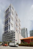 Midrise condo Brickell Royalty Free Stock Images