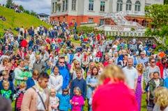 Midsummer celebration in Gothemburg, Sweden Royalty Free Stock Photos