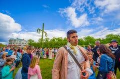 Midsummer celebration in Gothemburg, Sweden Stock Images