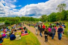 Midsummer celebration in Gothemburg, Sweden Royalty Free Stock Photography