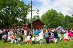 Midsummer celebration Stock Photography