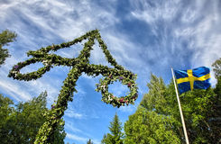 Midsummer celebrations. In  Stockholm, Sweden Royalty Free Stock Photography
