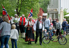 Midsummer celebrations Stock Image