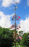 Midsummer Pole, Mariehamn, Aland Royalty Free Stock Photo
