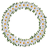 Midsummer wreath of flowers Royalty Free Stock Image