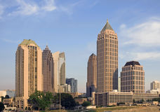 Midtown Atlanta Royalty Free Stock Images