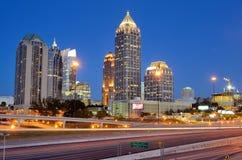 Midtown Atlanta lizenzfreie stockbilder