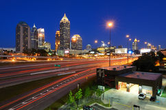 Midtown Atlanta immagini stock